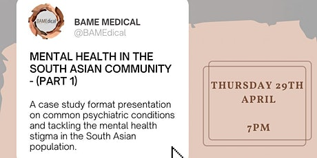 Mental Health in the South Asian Community (Part 1) tickets