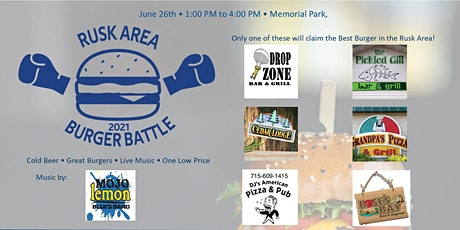 Rusk Area Burger Battle tickets