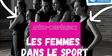 Les femmes dans le sport - Carton rouge  aux stéréotypes de genre billets