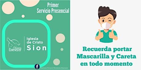 Primer Servicio Presencial Domingo 18/04/2021 entradas