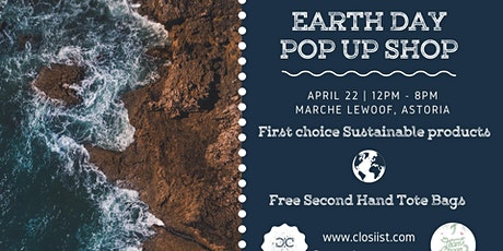 Earth Day - Pop Up Shop tickets