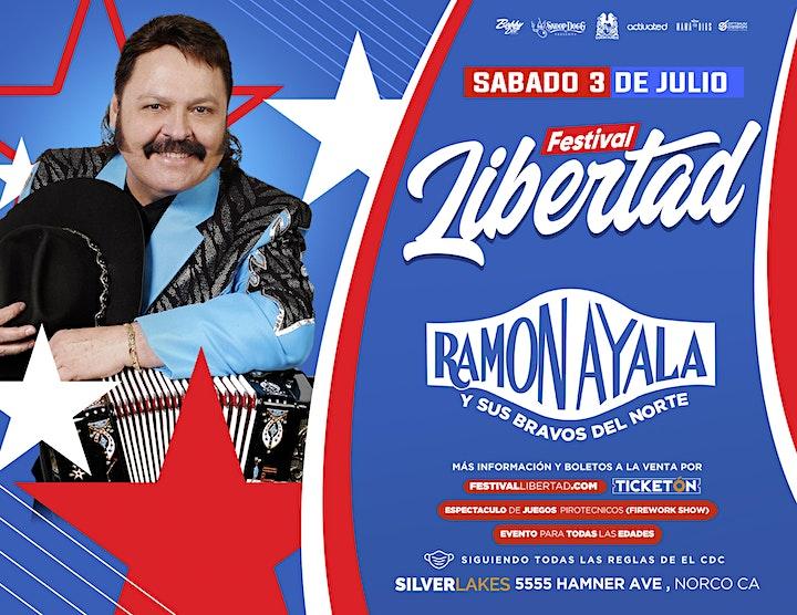 FESTIVAL LIBERTAD CON LOS TUCANES DE TIJUANA, RAMON AYALA Y AMIGOS image