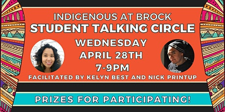 Indigenous at Brock - Student Talking Circle tickets