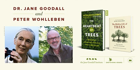 Dr. Jane Goodall in Conversation with Peter Wohlleben tickets