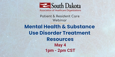 Mental Health & Substance Use Disorder Treatment Resources tickets