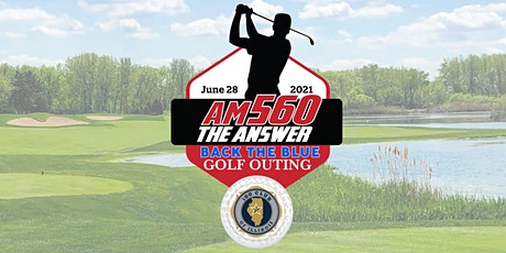 AM 560 Back the Blue Golf Outing tickets