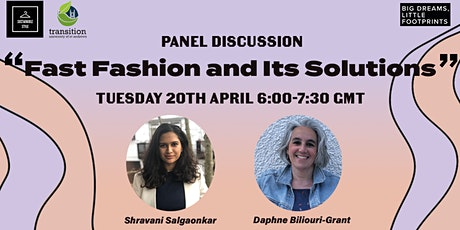 Panel Discussion: Fast Fashion and Its Solutions tickets