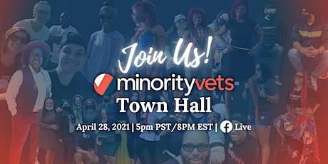 Minority Veterans of America Town Hall tickets