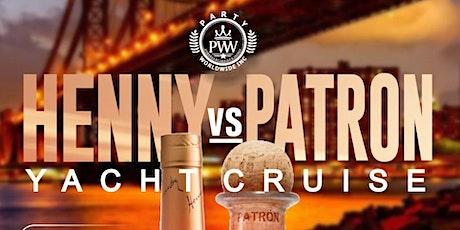 HENNY VS PATRON YACHT PARTY tickets