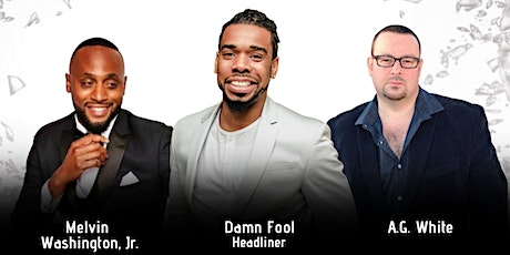 DAMN FOOL LIVE AT THE GLASSHOUSE COMEDY EXPERIENCE @ THE LYRIC THEATER tickets