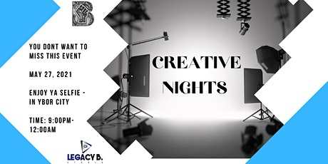 Creative Nights! tickets