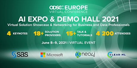 Virtual AI Expo @ ODSC Europe  2021 entradas
