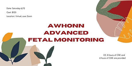 Advanced Electronic Fetal Monitoring course tickets