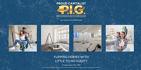 Flipping Homes with Little to No Equity tickets