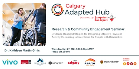 Research and Community Engagement Seminar - Dr. Martin Ginis tickets
