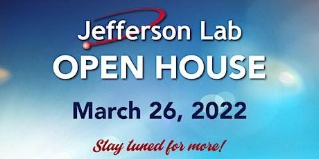 2022 Jefferson Lab Open House tickets