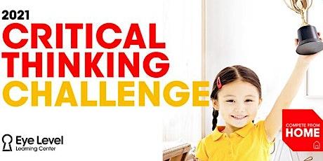 Eye Level Critical Thinking Challenge 2021 tickets