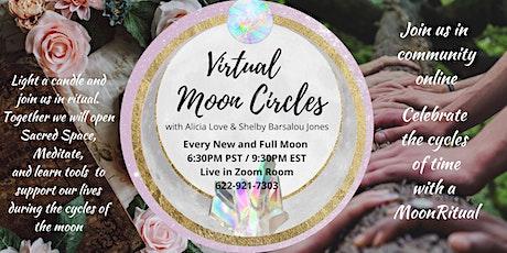Virtual Moon Circle tickets