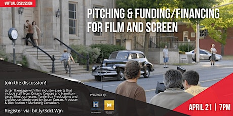 Pitching & Funding/Financing for Film & Screen tickets