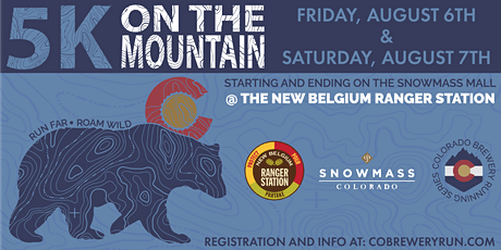 5k on the Mountain | Snowmass | Colorado Brewery Running Series tickets