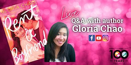 Live with YA Author Gloria Chao! tickets