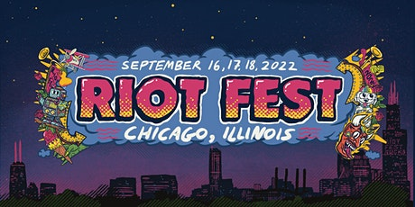 Riot Fest 2022 tickets
