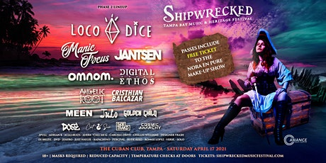 Shipwrecked Music Festival 2021 tickets