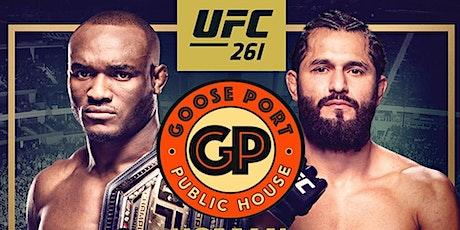 UFC 261 @ GOOSE PORT! tickets