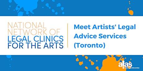 National Network Forum: Meet Artists' Legal Advice Services (ALAS, Toronto) tickets
