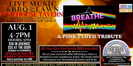 Breathe: A Pink Floyd Tribute @ OUR HOUSE TAVERN tickets