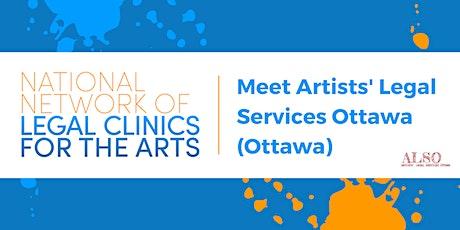 National Network Forum: Meet Artists' Legal Services Ottawa (ALSO, Ottawa) tickets