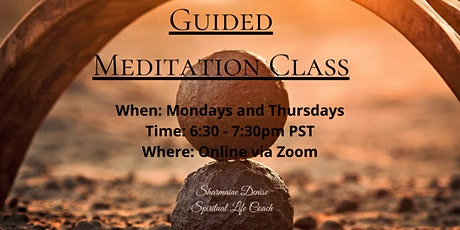 FREE Guided Meditation Class tickets