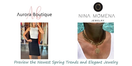 Live Stream Fashion Show at Aurora Boutique and Jewelry by Nina Momena tickets