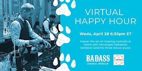 Virtual Happy Hour - Mixology Class with Sebastian Sandoval tickets