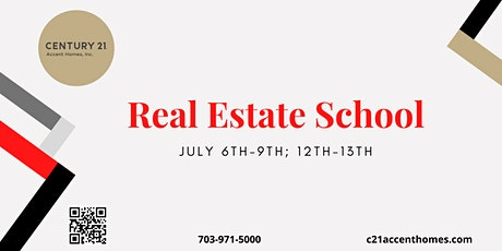 Real Estate School for July tickets