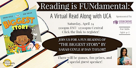 Reading is FUNdamental: A Virtual Read Along with UCA tickets