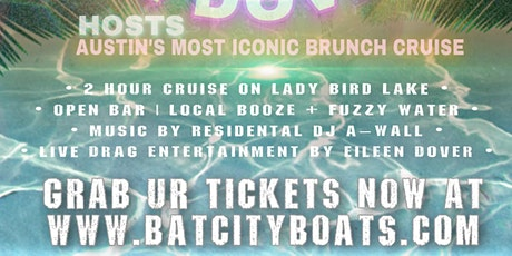 April 25th Drag Brunch Boat Party tickets