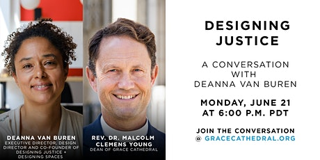 Grace Spring Forum Online with Deanna van Buren: Designing Justice tickets
