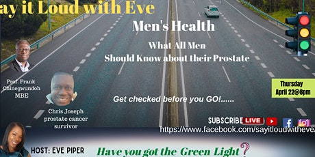 Men's Health: What All Men Should Know about their Prostate tickets