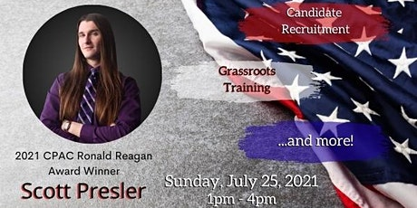Grassroots Activism Training with Scott Presler tickets