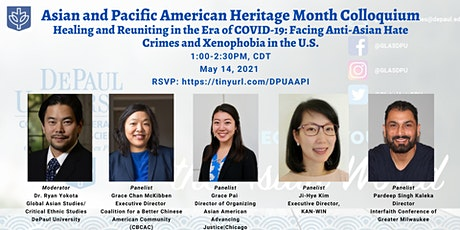 DePaul 2021 Asian American and Pacific Islander Heritage Month Colloquium tickets