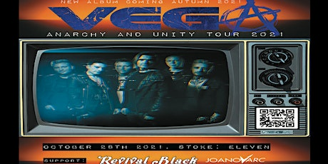 Vega plus special guests Live Eleven Stoke tickets