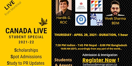 Canada Live: Student Special - 2021/22 tickets
