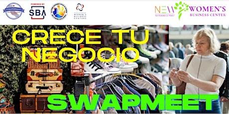 Ventas por las redes sociales - para vendedores de Swap Meet boletos