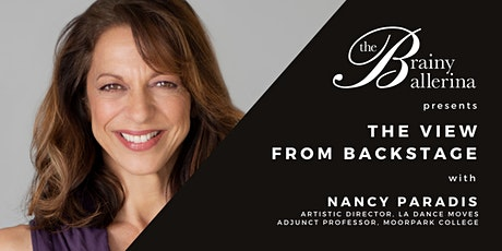 The View from Backstage: Nancy Paradis tickets