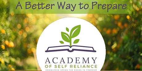 """The Preparedness Pathway - Intro to """"Operation Self-Reliance"""" with Live Q&A tickets"""