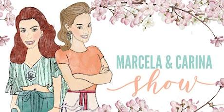 """MARCELA & CARINA SHOW """"DÍA DE LAS MADRES"""" EN ESPAÑOL! tickets"""