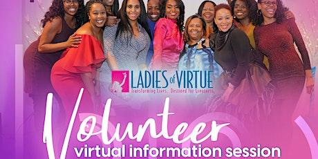 LOV 2021 Volunteer Information Session tickets