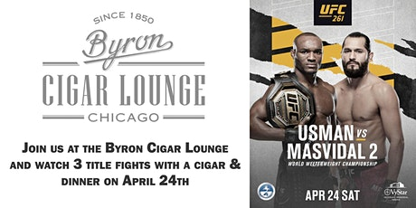 Byron Cigar Lounge UFC 261 Watch Party tickets
