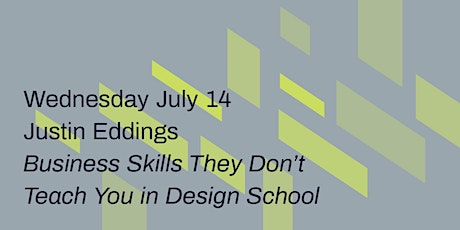 Business Skills They Don't Teach You in Design School tickets